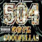 504 boyz - goodfellas CD 2000 no limit priority 22 tracks used