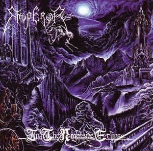 emperor - in the nightside eclipse CD 1995 century black 9 tracks used mint