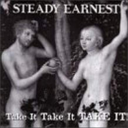 steady earnest - take it, take it, take it! CD 1994 1996 dvs 10 tracks used mint