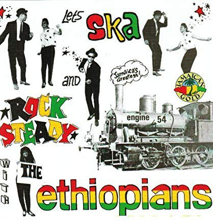 ethiopians engine '54 - let's ska and rock steady CD 1992 jamaican gold 12 tracks used mint