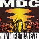 MDC - now more than ever CD 2002 rhythm vicar 30 tracks used mint