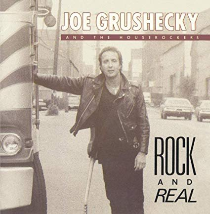 joe grushecky and the houserockers - rock and real CD 1989 rounder 11 tracks used mint