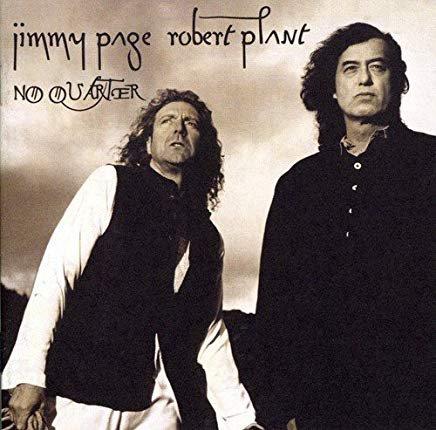 jimmy page + robert plant - no quarter CD 1994 atlantic used mint