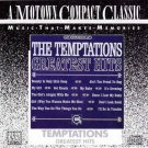 the temptations - greatest hits CD 1988 motown 12 tracks used mint