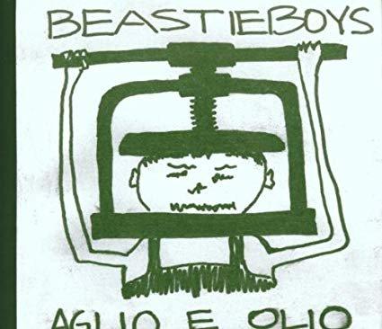 beastie boys - aglio e olio CD 1995 capitol grand royal 8 tracks used