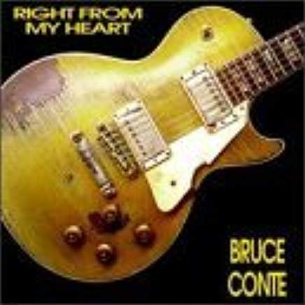 bruce conte - right from my heart CD lucky records 13 tracks used mint