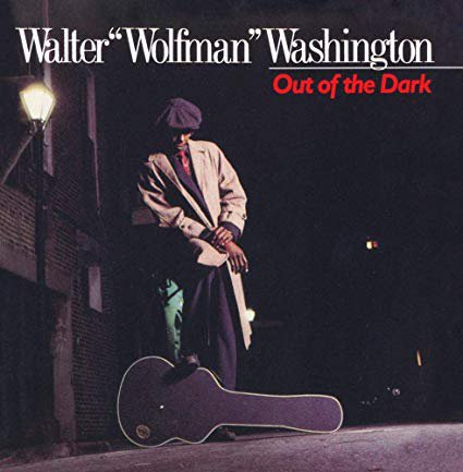 walter wolfman washington - out of the dark CD 1988 rounder 8 tracks used mint