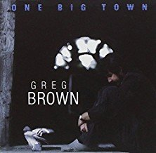 greg brown - one big town CD 1989 red house 10 tracks used mint