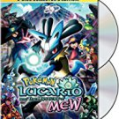 pokemon movie 8 - lucario and the mystery of mew DVD 2-disc collector's edition 2006 used mint