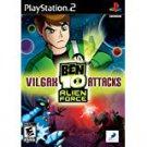 playstation 2 ben 10 alien force - vilgax attacks 2009 D3 Inc 10+E used mint
