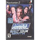 playstation 2 - WWE smack down - shut your mouth THQ 2002 Teen used mint