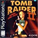 playstation - tomb raider II starring lara croft EIDOS 1998 Teen used mint