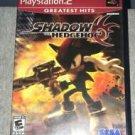 playstation 2 greatest hits - shadow the hedgehog SEGA 2006 10+E used mint