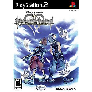 playstation 2 - kingdom hearts re: chain of memories Square Enix Disney 2007 10+E used mint