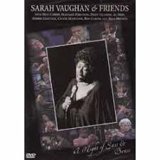sarah vaughan & friends - a night of sass & brass DVD 2006 IMC immortal 10 tracks used mint