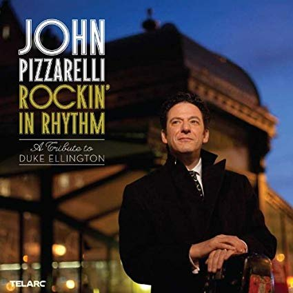 john pizzarelli - rockin' in rhythm a tribute to duke ellington CD 2010 telarc 12 tracks used mint