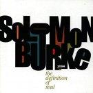 solomon burke - definition of soul CD 1996 virgin 11 tracks used mint