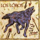 los lobos - how will the wolf survive? CD 1984 warner slash 11 tracks used mint