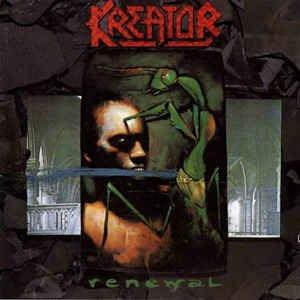 kreator - renewal CD 1987 noise futurist 9 tracks used mint