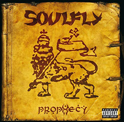 soulfly - prophecy CD 2004 roadrunner 12 tracks used mint