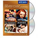 turner classic legends film collections - bette davis DVD 4-disc set 2011 used mint