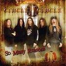 circle II circle - so many reasons CD EP 4 tracks + a video track CD 2008 locomotive used mint