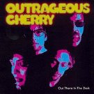 outrageous cherry - out there in the dark CD 1999 del-fi records 13 tracks used mint