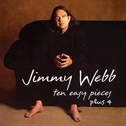 jimmy webb - ten easy pieces plus 4 CD 2010 EMI drg 14 tracks used mint