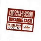 rosanne cash - 10 song demo CD 1996 capitol 11 tracks used mint
