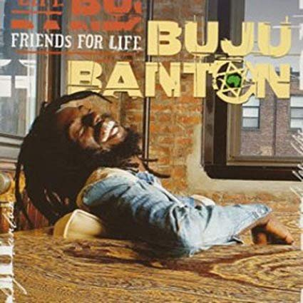 buju banton - friends for life CD 2003 atlantic 19 tracks used mint