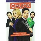 chuck - complete fourth season DVD 5-discs 2011 warner used mint