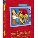simpsons - compete fifth season collector's edition DVD 4-discs 2011 fox used mint