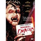 night of the demons - a kevin d. tenney film DVD 1987 anchor bay 90 mins used mint