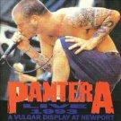 pantera - live 1993 CD 1993 kaos gema 13 tracks used mint