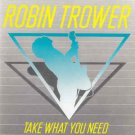 robin trower - take what you need CD 1988 atlantic 9 tracks used mint