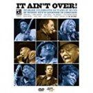 it ain't over: delmark celebrates 55 years of blues DVD 2009 delmark 16 tracks 79 minutes used mint