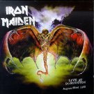 iron maiden - live at donington august 22nd 1992 CD 2-discs 1998 raw power used mint