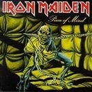 iron maiden - piece of mind CD 1998 sanctuary 9 tracks + 2 multimedia tracks used mint