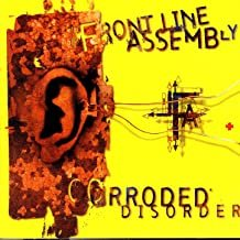 frontline assembly - corroded disorder CD 1996 cleopatra 16 tracks used mint
