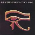 sisters of mercy - vision thing CD 1990 elektra 8 tracks used mint