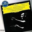 beethoven symphonien nos. 5 & 7 - weiner philharmoniker + carlos kleiber CD DG used mint