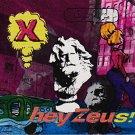 x - hey zeus! CD 1993 big life mercury 11 tracks used mint