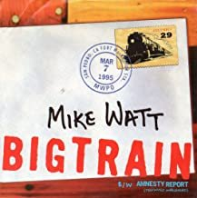 mike watt - big train CD single 1995 sony 1 track used mint CSK7028