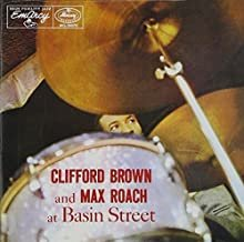 clifford brown and max roach - at basic street CD 1990 polygram 13 tracks used mint
