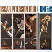 oscar peterson trio + one clark terry CD 1984 polygram 10 tracks used mint