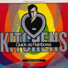 kitchens of distinction - quick as rainbows CD EP 1990 one little indian UK 4 tracks used mint