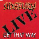 sideburn - live: get that way CD maxi single 4 tracks 1997 CD satellite used mint
