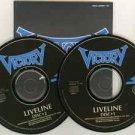 victory - liveline CD 2-discs 1994 GSE germany 1996 teichiku japan 20 tracks used mint
