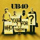 UB40 - who you fighting for? CD 2006 rhino 13 tracks used mint