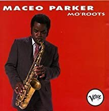 maceo parker - no'roots CD 1991 verve minor 10 tracks used like new